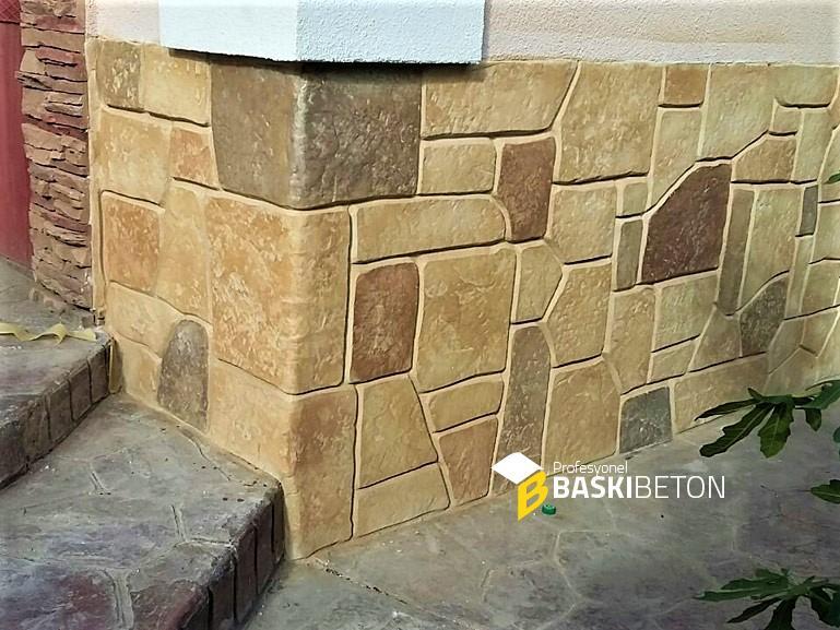 Duvar Baskı Beton Örnekleri