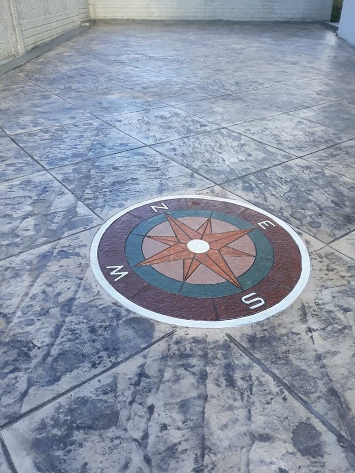 Stamped Concrete Cyprus